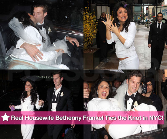 bethenny frankel wedding band. Housewife Bethenny Frankel