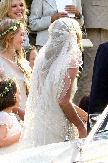 Astigmata kate moss wedding dress by john galliano for John galliano wedding dress
