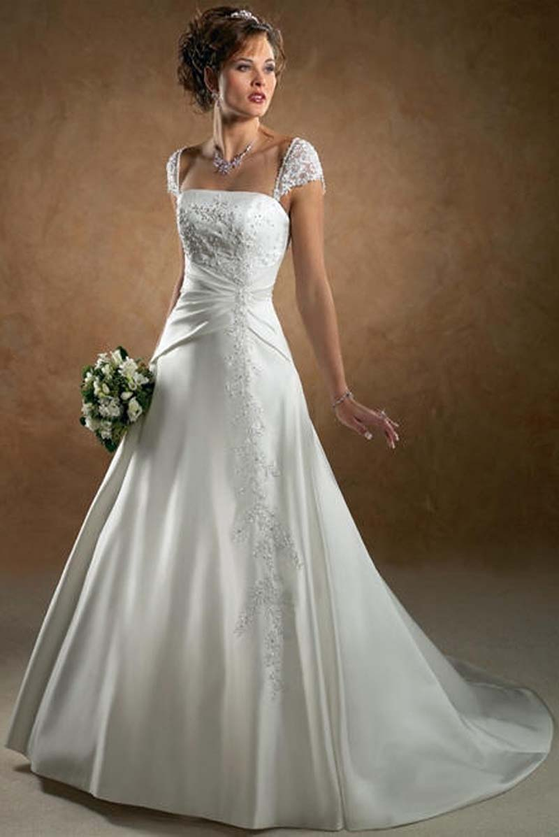 White Wedding Dresses   : Big white wedding dresses reference for decoration